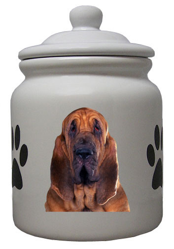 Bloodhound Ceramic Color Cookie Jar