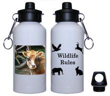 Cow Aluminum Water Bottle