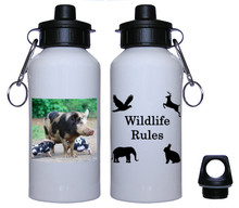 Pig Aluminum Water Bottle