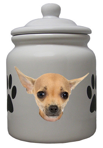 Chihuahua Cookie Jar Awesome Chihuahua Ceramic Color Cookie Jar