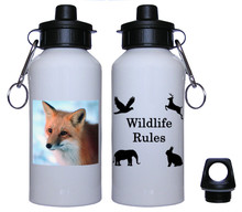 Fox Aluminum Water Bottle