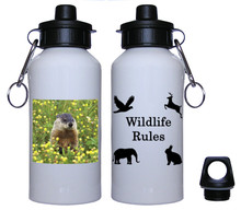 Groundhog Aluminum Water Bottle
