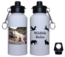Mountain Goat Aluminum Water Bottle