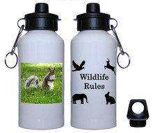 Squirrel Aluminum Water Bottle