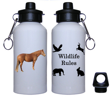 Barb Aluminum Water Bottle