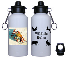 Crab Aluminum Water Bottle