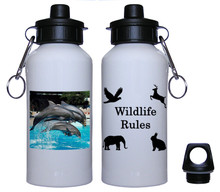Dolphin Aluminum Water Bottle