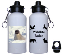 Seal Aluminum Water Bottle