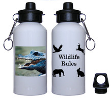 Crocodile Aluminum Water Bottle
