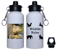 Iguana Aluminum Water Bottle