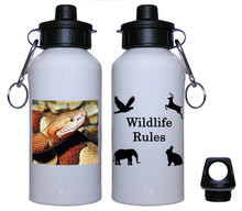 Copperhead Snake Aluminum Water Bottle