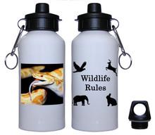 Python Snake Aluminum Water Bottle