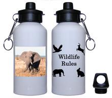 Elephant Aluminum Water Bottle