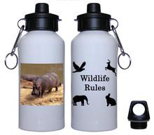 Hippo Aluminum Water Bottle
