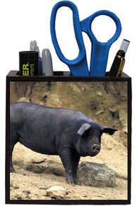 Pig Wooden Pencil Holder