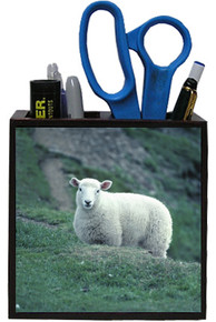 Sheep Wooden Pencil Holder