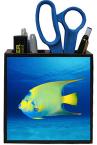 Angelfish Wooden Pencil Holder