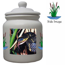 Mangrove Snake Ceramic Color Cookie Jar