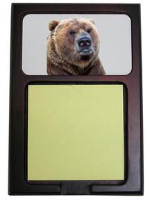 Bear Wooden Sticky Note Holder