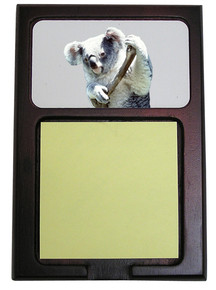 Koala Bear Wooden Sticky Note Holder