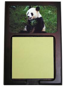 Panda Bear Wooden Sticky Note Holder