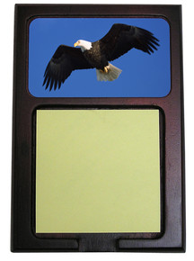Eagle Wooden Sticky Note Holder