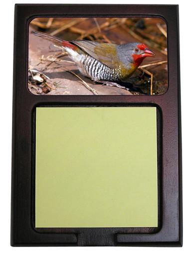 Finch Wooden Sticky Note Holder