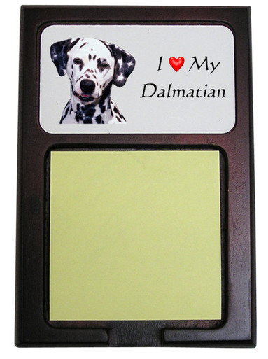 Dalmatian Wooden Sticky Note Holder