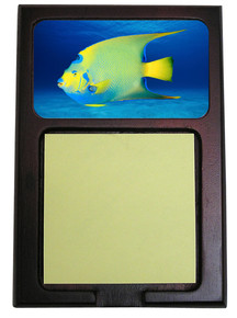 Angelfish Wooden Sticky Note Holder