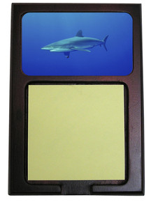 Shark Wooden Sticky Note Holder