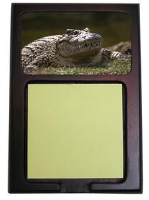 Alligator Wooden Sticky Note Holder