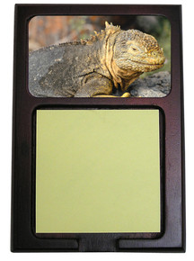 Iguana Wooden Sticky Note Holder