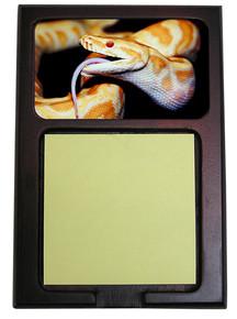 Python Snake Wooden Sticky Note Holder