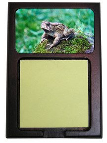 Toad Wooden Sticky Note Holder