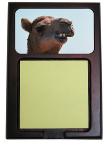 Camel Wooden Sticky Note Holder