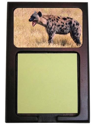 Hyena Wooden Sticky Note Holder