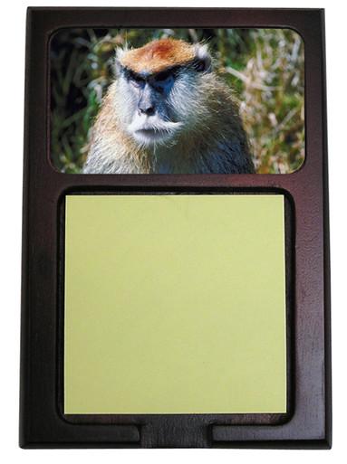 Monkey Wooden Sticky Note Holder