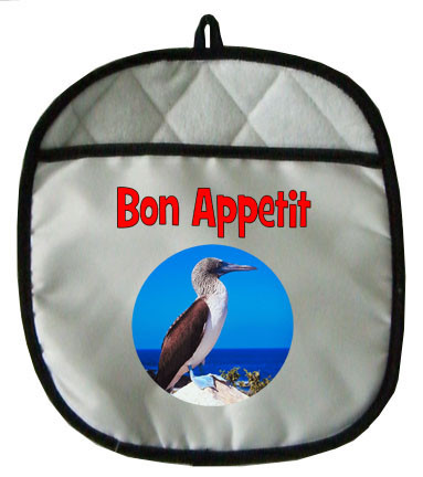 Blue Footed Booby Pot Holder