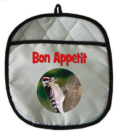 Downey Woodpecker Pot Holder