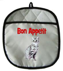 American Shorthair Cat Pot Holder