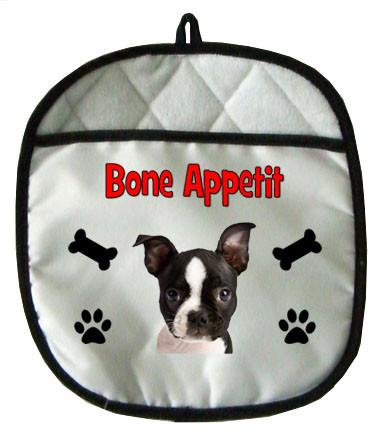 Boston Terrier Pot Holder