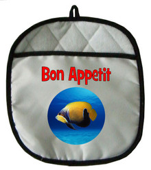 Blue Girdled Angelfish Pot Holder