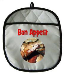 Copperhead Snake Pot Holder