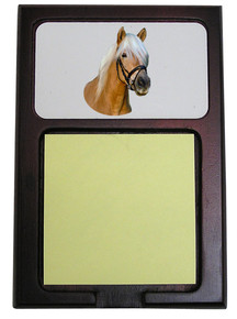 Haflinger Wooden Sticky Note Holder