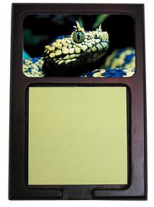 Viper Snake Wooden Sticky Note Holder