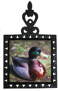 Duck Iron Trivet