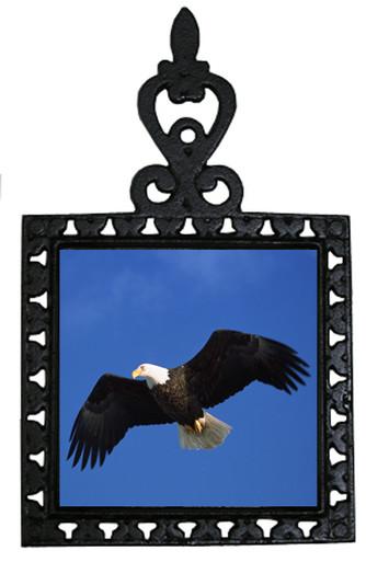 Eagle Iron Trivet