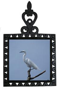Egret Iron Trivet
