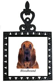 Bloodhound Iron Trivet