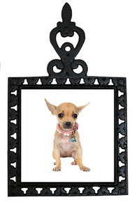 Chihuahua Iron Trivet